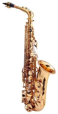 NOWY Sakskofon altowy niemiecki Kirstein złoty M408 Zgorzelec - image 1