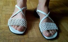Białe sandały Montego Bay Club, rozmiar 39