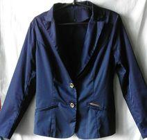 Пиджак тёмно-синий школьный на девочку