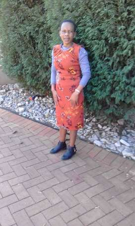 Maid,nanny,cook from Lesotho looking for strictly stay in work