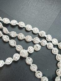 Pasek biżuteryjny srebny