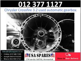 Chrysler Crossfire 3.2* 2005-12 used automatic gearboxes for sale