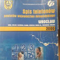 Książka telefoniczna Wrocław 2000