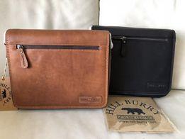 Мужская кожаная сумка Портфель Hill Burry Планшет