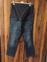 Jeansy ciążowe H&M MAMA 44