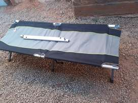 Outdoor foldable camping bed