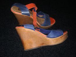 Sandały na koturnie roz. 38