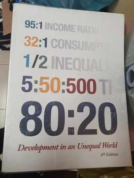 80:20 development in an unequal world 6th edition
