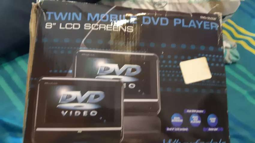 Twin mobile DVD player for sale 0