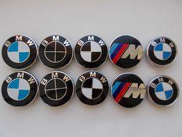 Колпачки заглушки BMW 68 мм 60мм для литых дисков M-power