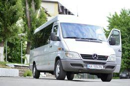Аренда микроавтобуса Мерседес-Спринтер 18 пассажирских мест.