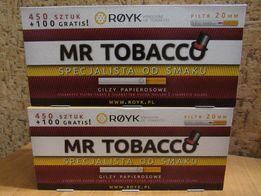 Сигаретные гильзы, для сигарет Mr TOBACCO (фильтрующий картридж20мм)