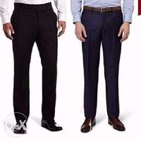 2n1 Men's Executive suit trousers- black and Navy blue 0