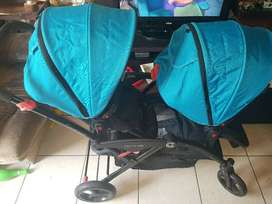 Contours Options Elite Twin Stroller