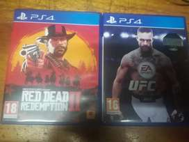 Red dead redemption 2 and UFC 3