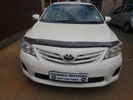 2013 toyota corolla proffesional 1.6 with 96000km