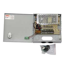 CCTV Power Supply Boxes 12VDC Power Supply Units in Junction Boxes NEW