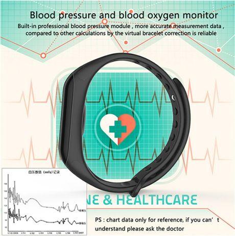 Фитнес браслет F1 шагомер пульсометр давление умные смарт часы (Xiaomi Кривой Рог - изображение 4