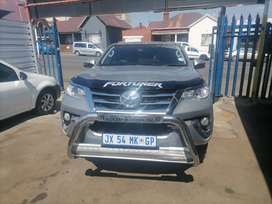 2019 Toyota Fortuner 2.4 GD6 with a leather seat