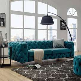 SPECIAL!! Kruger Tufted Chesterfield 3 Seater Sofa