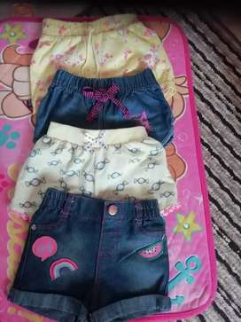 Kids shorts preloved ( price for all the shorts)