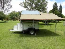 Offroad camp trailer to swap for 1000cc bike