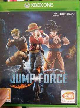 Best anime game ever!! Xbox one Jump Force R700 neg.