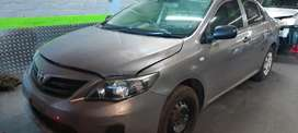Toyota Corolla Quest stripping for spares
