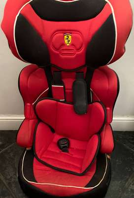 Ferrari booster toddler car seat
