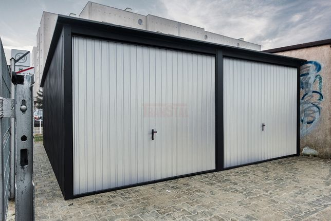 Garaż blaszany 6x6m Grafit |Garaże blaszane| Wzmocniony Raciechowice - image 6