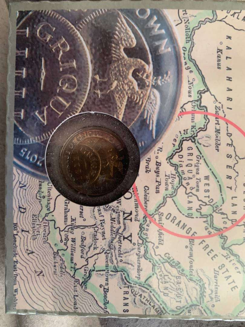 Griqua Town 200 Years Five Rand  Limited Edition - R5 0