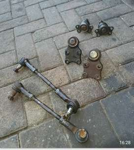 Isuzu KB tie rods and ball joints