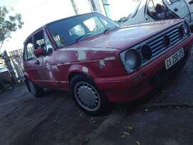 Selling golf mk1 and nissan sentra both unfinished projects