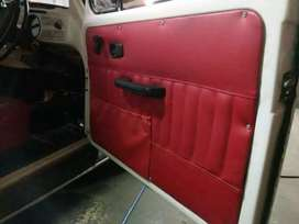 Vehicle upholstery and interior