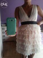 Szyfonowa sukienka H&M , rozm. 36 S/M