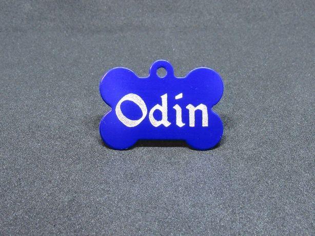 Адресник для собаки с гравировкой (купить жетон медальон на ошейник) Винница - изображение 4