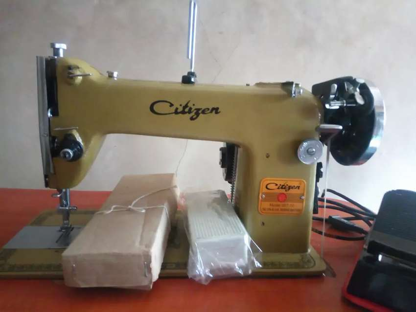 Citizen Lockstitch Umbrella Semi-Industrial Sewing Machine Square 0