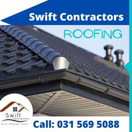 Leaky roof? Swift Contractors fix and install roofing professionally