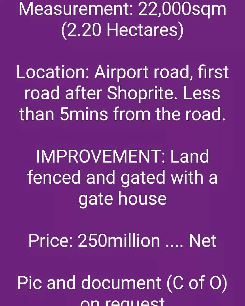 Lands in Abuja for Sale 0