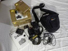 Aparat Nikon D40 - Zestaw + Obiektyw+ Torba