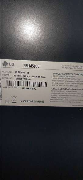 LG 3D HD TV FOR SALE  (No Picture)