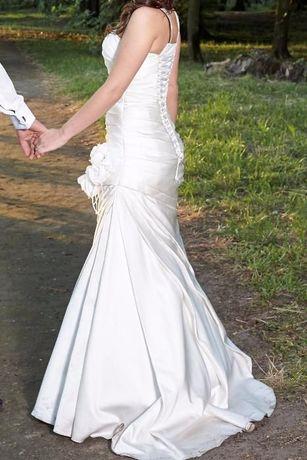 Prześliczna suknia ślubna rozmiar 36. Stan bdb. Gdańsk - image 1