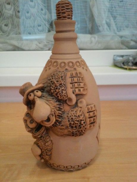 Бутилка керамічна Полтава - изображение 1