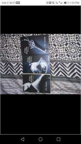 FifTy shades of grey full book set
