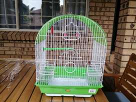 Oval top bird cage