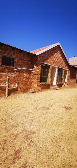 A neat and secure two bedroom Garden flatlet