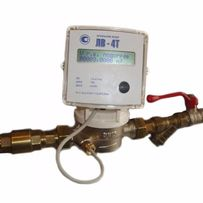 ЛВ 4Т установка квартирных счетчиков воды и электронного.
