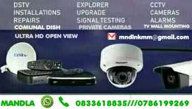 Having any problem with your DSTV and CCTV installations we repair