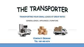 Hi I do mini loads at affordable rates, local and long distance 123