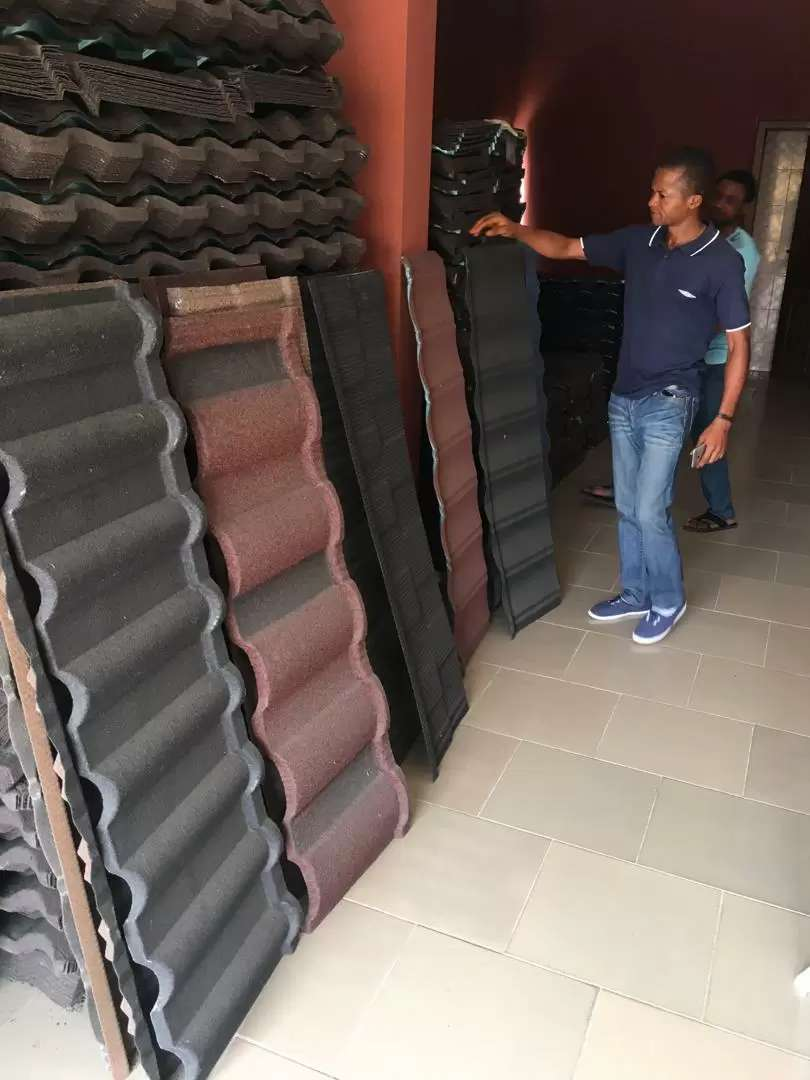 Stone Coated Roofing Tiles 0